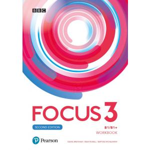 Focus Second Edition 3 Workbook +  Online Practice