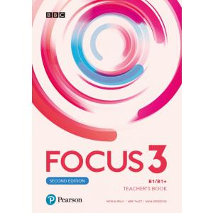 Focus Second Edition 3 Teacher's Book+ Płyty Audio, DVD-ROM i Kod Dostępu do  Digital Resources