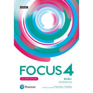 Focus Second Edition 4 Workbook + Online Practice