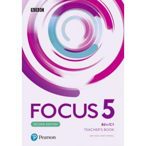 Focus Second Edition 5. Teacher's Book plus płyty audio, DVD-ROM i kod dostępu do Digital Resources