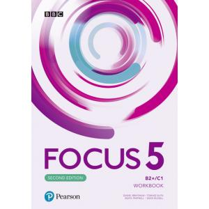 Focus Second Edition 5. Workbook + Online Practice