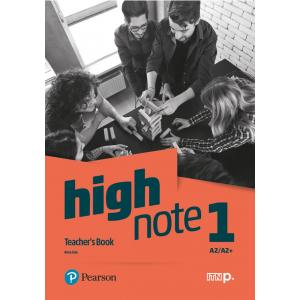 High Note 1. Teacher's Book + CD + DVD + kod dostępu do Digital Resources