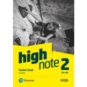 High Note 2. Teacher's Book + CD + DVD + kod dostępu do Digital Resources
