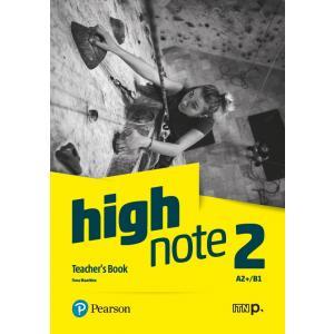 High Note 2 Teacher's Book+ Płyty Audio, DVD-ROM i Kod Dostępu do Digital Resources