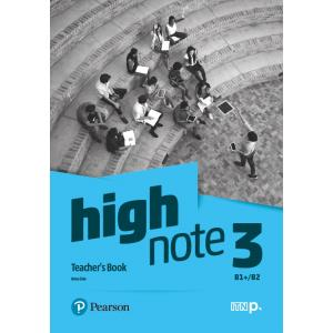 High Note 3. Teacher's Book + CD + DVD + kod dostępu do Digital Resources
