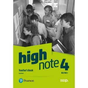 High Note 4. Teacher's Book + CD + DVD + kod dostępu do Digital resources