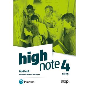 High Note 4. Workbook + kod (MyEnglishLab + Online Practice)