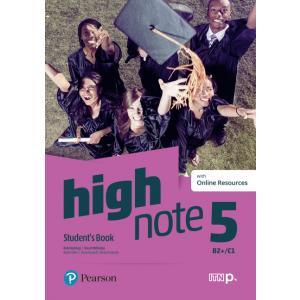 High Note 5. Student's Book + Online Audio