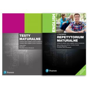 Longman Repetytorium Maturalne. Język Angielski. Poziom Rozszerzony + Testy + kod (interactive eBook)