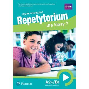 Repetytorium języka angielskiego dla klasy 7. Podręcznik z kodem do Pearson English Portal