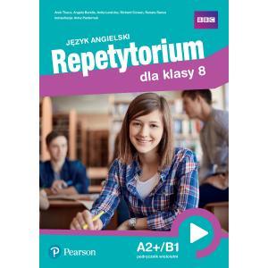 Repetytorium języka angielskiego dla klasy 8. Podręcznik z kodem do Pearson English Portal