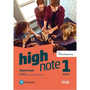 High Note 1. Student's Book + kod (Digital Resources + Interactive eBook)