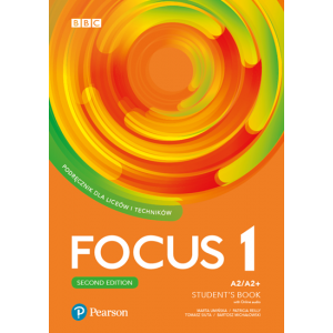 Focus Second Edition 1. Student's Book + kod (Digital Resources + Interactive eBook)