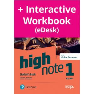 High Note 1. Student's Book + kod (Digital Resources + Interactive eBook + MyEnglishLab)