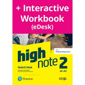 High Note 2. Student's Book + kod (Digital Resources + Interactive eBook + MyEnglishLab)