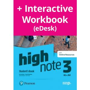 High Note 3. Student's Book + kod (Digital Resources + Interactive eBook + MyEnglishLab)
