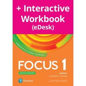 Focus Second Edition 1. Student's Book + kod (Interactive eBook + Interactive Workbook)