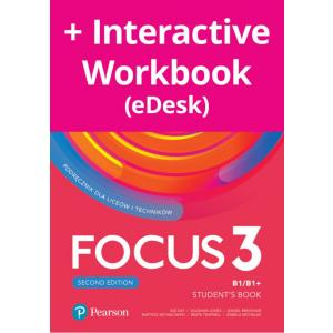 Focus Second Edition 3. Student's Book + kod (Digital Resources + Interactive eBook + MyEnglishLab)