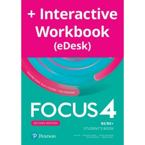 Focus Second Edition 4. Student's Book + kod (Digital Resources + Interactive eBook + MyEnglishLab)