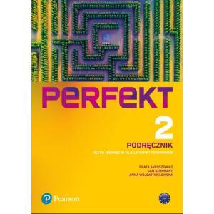 Perfekt 2. Język Niemiecki. Podręcznik + kod (Interaktywny podręcznik + interaktywny zeszyt ćwiczeń). Liceum i Technikum