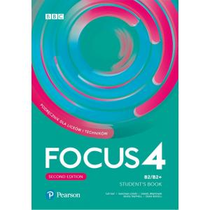 Focus Second Edition 4. Student's Book + kod (Digital Resources + Interactive eBook) Pack