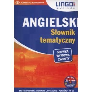 LINGO Angielski słownik tematyczny + CD