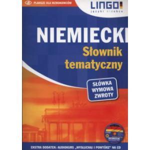 LINGO Niemiecki słownik tematyczny + CD