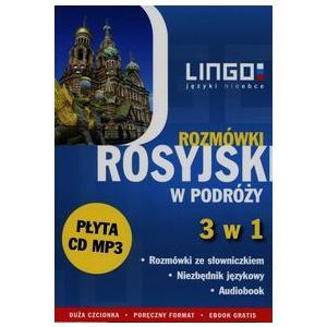 LINGO Rosyjski w podróży Rozmówki 3 w 1 + CD