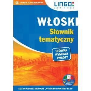 LINGO Włoski Słownik tematyczny + CD