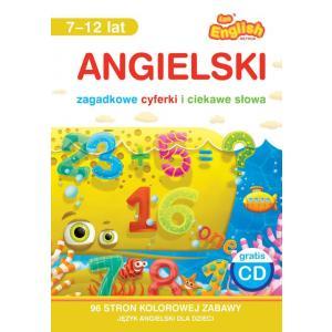 Leo English Method. Angielski. Zagadkowe cyferki i ciekawe słowa 7-12 lat. Książka + CD