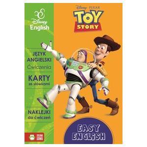 Easy English Disney English Toy Story Ćwiczenia, karty ze słówkami, naklejki