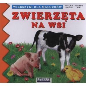 Wierszyki dla maluchów. Zwierzęta na wsi
