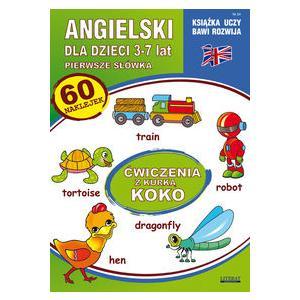 Angielski dla dzieci. Zeszyt 24 (3-7 lat)