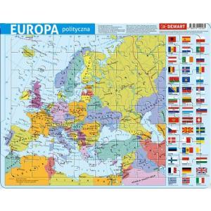 Puzzle ramkowe. Europa polityczna