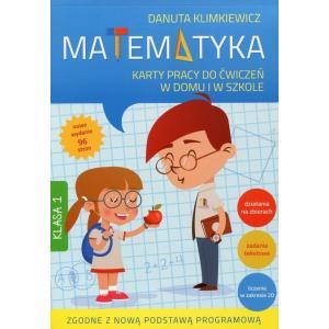 Matematyka 1. Karty pracy do ćwiczeń w domu i w szkole