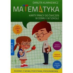 Matematyka 2. Karty pracy do ćwiczeń w domu i w szkole