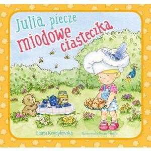 Julia piecze miodowe ciasteczka