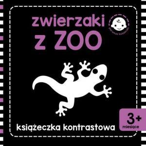Pierwsze książeczki. Zwierzaki z zoo. Książeczki kontrastowe
