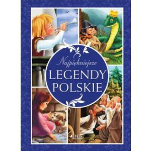 Najpiękniejsze legendy polskie opr. twarda