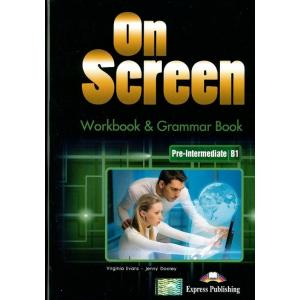 On Screen Pre-Intermediate (B1). Matura Workbook + Grammar Book CD