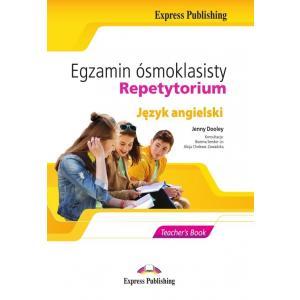 Egzamin Ósmoklasisty. Repetytorium. Książka Nauczyciela + DigiBook + CD