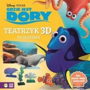 Gdzie jest Dory Teatrzyk 3D do złożenia