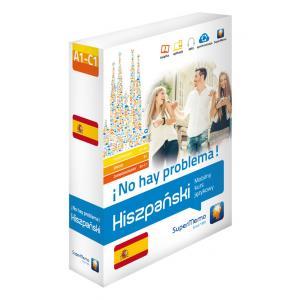 Hiszpański. ¡No Hay Problema! Mobilny Kurs Językowy. Komplet - Poziomy A1-C1