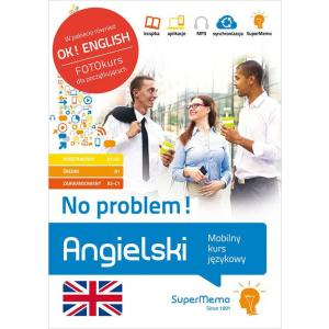 Angielski No Problem! Mobilny Kurs Językowy. Pakiet Poziom Podstawowy A1-A2, Średni B1, zaawansowany B2