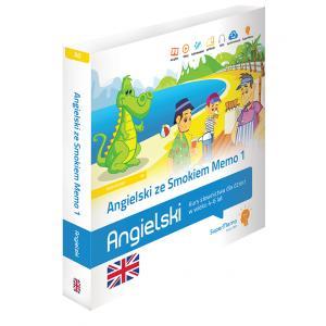 Angielski ze Smokiem Memo 1 Kurs słownictwa dla dzieci w wieku 4-6 lat (poziom A0)