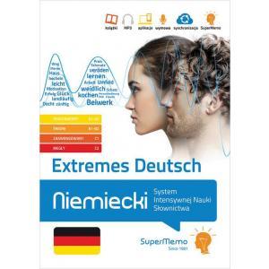 Extremes Deutsch Niemiecki System Intensywnej Nauki Słownictwa (A1-C2)