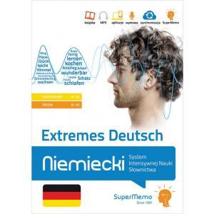 Extremes Deutsch Niemiecki System Intensywnej Nauki Słownictwa (A1-B2)