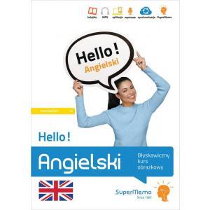 Hello! Angielski. Błyskawiczny kurs obrazkowy. Poziom A1