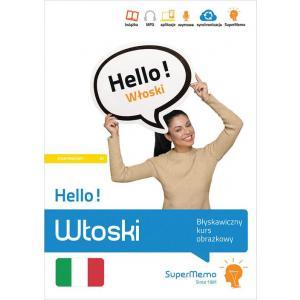 Hello! Włoski. Błyskawiczny kurs obrazkowy. Poziom A1
