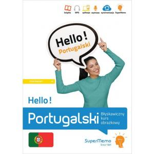 Hello! Portugalski. Błyskawiczny kurs obrazkowy. Poziom A1